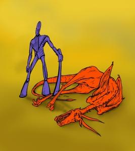 Dragonslayer, by Zak Nelson