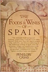 The Foods & Wines of Spain, Penelope Casas