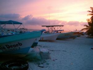 fishing boats, Isla Mujeres
