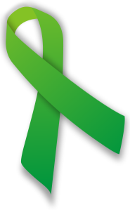 lymphoma awareness - green ribbon