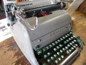 Louis L'Amour's typewriter