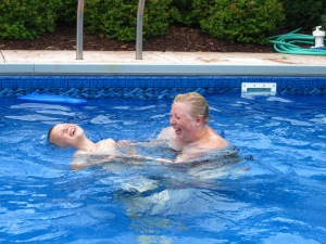 Tickles in Pool = The Good Life