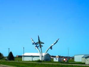 Fighter Jets on a Stick
