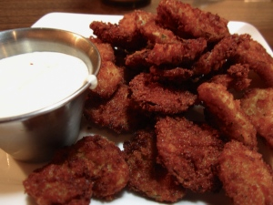 Fried pickles. Oh Yes.