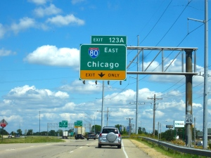 I-80 (88) to Chicago