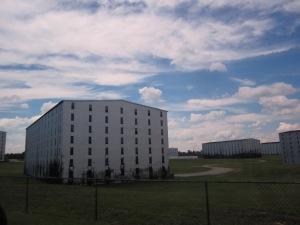 Barrel aging warehouses