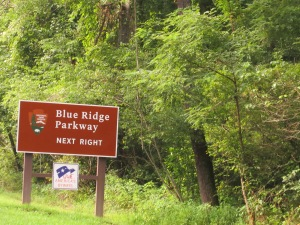 The famed Blue Ridge Parkway