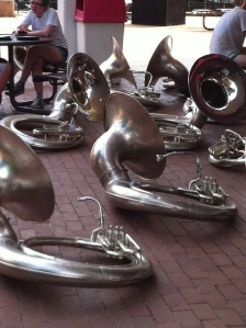 A tirade of tubas