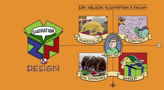 Concept art, website